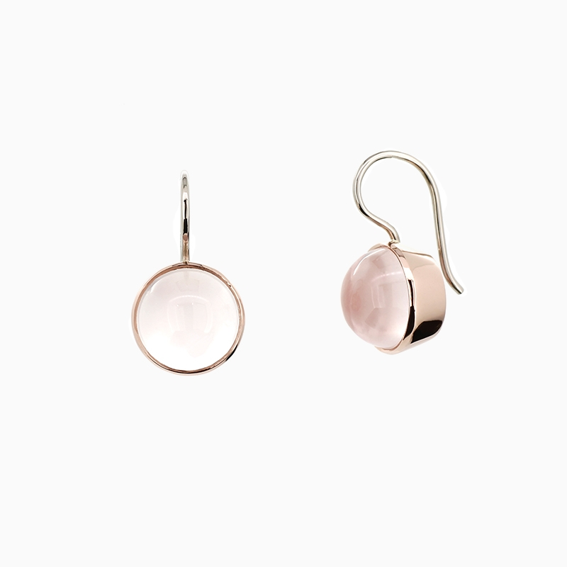 tourmalinated jewellery product quartz original dynasty white earrings by