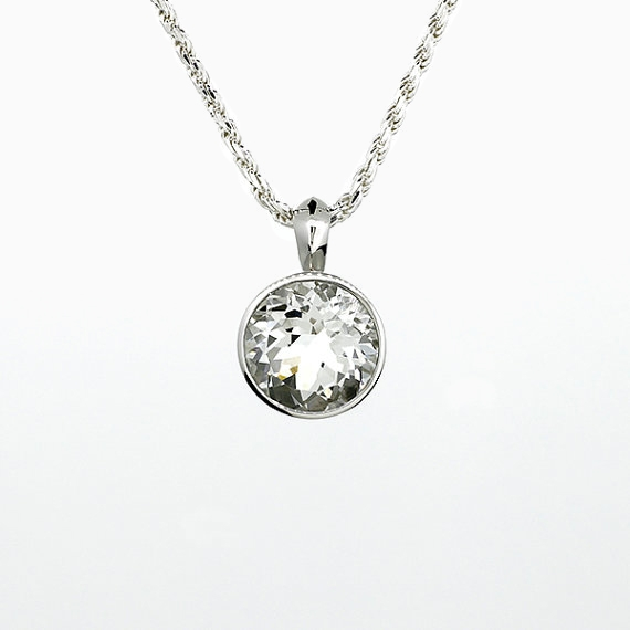 50 sale white topaz pendant necklaces and pendants torkkeli 50 sale white topaz pendant aloadofball Gallery